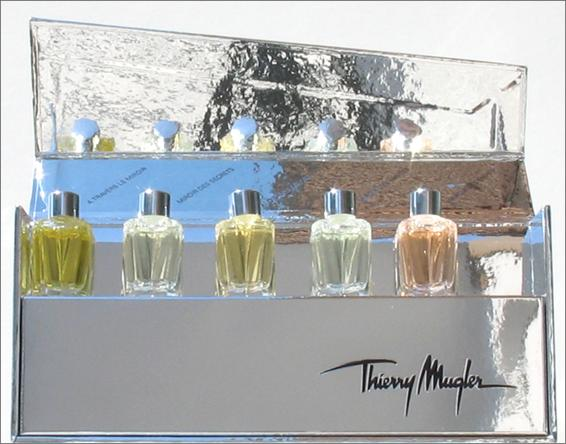 Parfumeur mugler collection priv e de miniatures de parfums for Thierry mugler dis moi miroir